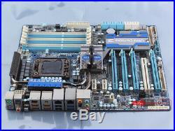 100% tested Gigabyte GA-X58A-UD7 1366 DDR3 Intel X58 motherboard USB3.0 ATX