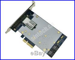 2port SATA III+2ports NGFF(m. 2) PCI-E express X4 Raid Card HyperDuo Marvell 9230
