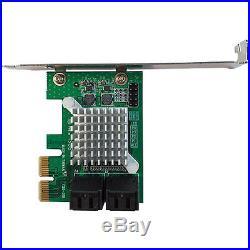 4 Port PCI Express 2.0 SATA III 6Gbps RAID Controller Card