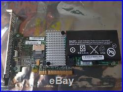 4 Port SFF-8087 SAS-2 SATA-III 6Gb RAID PCI-e 2.0 x8 Intel RS2BL040
