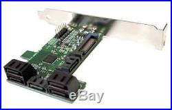 6Gb SATAIII Port Multiplier 1 to 5 SATAIII Bridge PCI bracket mount-able