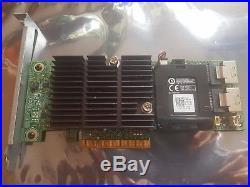 8 Port SFF-8087 SAS-2 SATA-III 6Gb RAID PCI-e 2.0 x8 Dell PERC H710 VM02C
