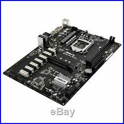 ASROCK H110 PRO BTC Intel H110 1151 ATX Designed for Crypto Mining 1 x PCIe3.0