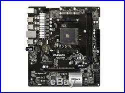 ASRock AB350M AMD B350 AM4 Socket Micro ATX Motherboard