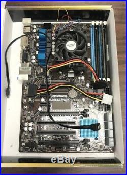ASRock ATX DDR3 1066 Motherboards FM2A88X PRO3+ plus KINGSTON RAM 2G KVR13N9S6/2