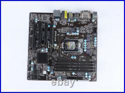 ASRock B75 PRO3-M Motherboard LGA 1155 Intel B75 DDR3 mATX DVI HDMI USB3 2K