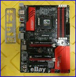 ASRock Fatal1ty H97 Performance, LGA1150 2x PCIE x16 SATA3/6G + IO-Shield