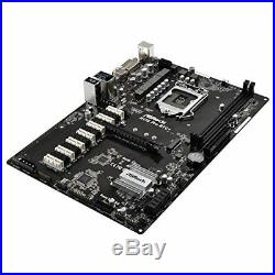 ASRock H110 Pro BTC+ 13 GPU Mining ASX Motherboard withTracking# form JAPAN F/S