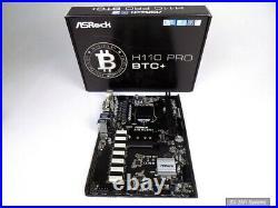 ASRock H110 Pro BTC+ Mining Board Sockel 1151 Sockel DDR4 (12x PCI-Express x1)