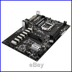 ASRock H110 Pro BTC+ Mining Motherboard With 13 PCI Express Slots EMS F/S