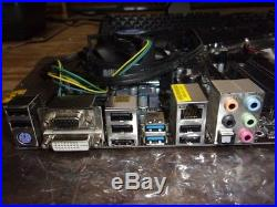 ASRock H77M PCI-e Motherboard with3570k@3.4GHz/4GB RAM/IO Shield/SATA CORD
