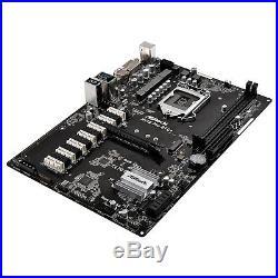 ASRock Motherbaord H110 PRO BTC+ Core i7/i5/i3 H110 DDR4 Max. 32GB PCI Express