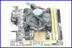 ASUS H81I-PLUS Mini ITX Motherboard + Intel i3 3.40GHZ Dual Core CPU TESTED