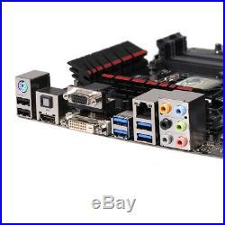 ASUS H97-PRO GAMER Motherboard Intel H97 LGA 1150 ATX DDR3 M. 2 SATA3.0 Used