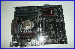 ASUS H97-PRO Gamer Motherboard USB 3.0 SATA UEFI BIOS HDMI DVI LAN LGA1150 H97