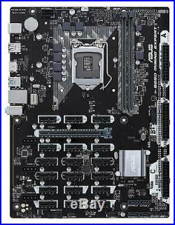 ASUS MOTHER BOARD B250 MINING EXPERT 19GPU LGA1151 from Japan F/S New