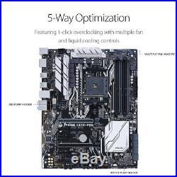 ASUS Motherboard PRIME X370-PRO AMD Ryzen AM4 X370 DDR4 SATA PCI-E M. 2 USB3.1