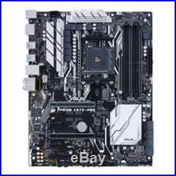 ASUS Motherboard PRIME X370-PRO AMD Ryzen AM4 X370 DDR4 SATA PCI Express M. 2 USB