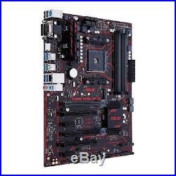ASUS Motherboard Prime B350-Plus AMD AM4 Ryzen B350 DDR4 SATA PCI Express HDMI