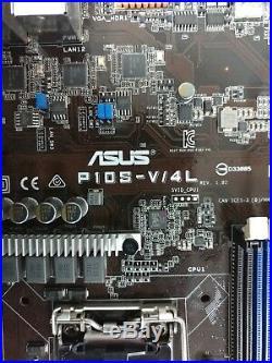 ASUS P10S-V/4L Motherboard LGA1151 C236 DDR4 4x Gbe 8x SATA/6g + IO Shield Clean