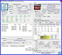 ASUS P8H67 Rev3.0 LGA1155 2x PCIE x16 DDR3 USB3.0 SATA3/6G + IO-Shield, Tested