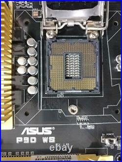 ASUS P9D-WS Motherboard LGA1150 C226 4x PCIE x16 + IO Backplate 100% Working