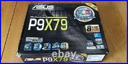 ASUS P9X79, LGA 2011 motherboard, 16GB DDR3 memory, PCIx M. 2, Xeon E5-2637 V2