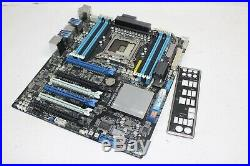 ASUS P9X79 WS Intel LGA 2011 SATA 6GB/s DDR3 8-Slot Motherboard with I/O Shield