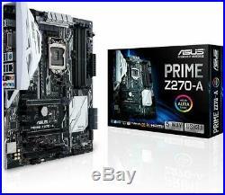ASUS PRIME Z270-A LGA1151 DDR4 DP HDMI DVI M. 2 USB 3.1 Z270 ATX Motherboard New