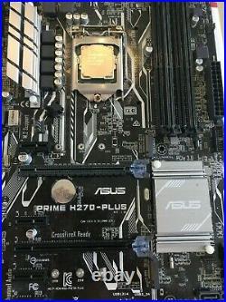 ASUS Prime H270-PLUS LGA 1151 AND Intel I3-7100 CPU