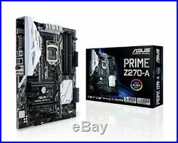 ASUS Prime Z270-A Motherboard LGA1151 Z270 DDR4 64GB ATX Intel Optane Gaming