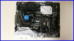 ASUS Prime Z270-A motherboard + Intel i5 7500 3.4GHz processor