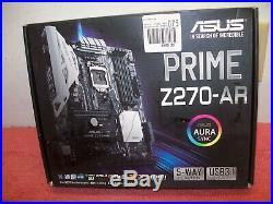 ASUS Prime Z270-AR LGA1151 Z270 DDR4 64GB ATX Intel Optane SLI USB 3.1, Free ship