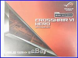 ASUS ROG CROSSHAIR VI HERO AMD AM4 X370 RAYZENATX Motherboard 90MB0SC0-M0EAY0