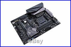 ASUS ROG Crosshair VI Hero AMD Ryzen AM4 DDR4 M. 2 USB 3.1 ATX X370 Motherboar