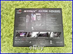 ASUS ROG STRIX Z270E GAMING WIFI, LGA 1151/Socket H4, Intel Motherboard