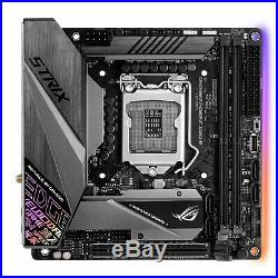 ASUS ROG STRIX Z390-I GAMING Motherboard, Socket 1151, Z390, DDR4, Mini ITX