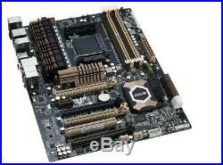 ASUS SABERTOOTH 990FX R2.0 Desktop Motherboard AM3+, AMD DDR3 ATX with I/O Shield