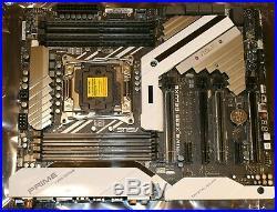 ASUS X299 DELUXE intel motherboard, wifi, dual LAN, dual M. 2, TB3, DDR4 LGA2066