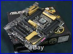ASUS X79 DELUXE ATX Motherboard DDR3 LGA 2011 Intel X79 USB 3.0 SATA 6Gb/s
