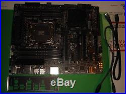 ASUS X99-A, LGA 2011-3, 8 DDR4, 10 SATA3 PCI-E, ATX Motherboard hh686