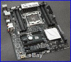 ASUS X99-E Intel LGA2011-3 ATX Motherboard DDR4 LATEST BIOS