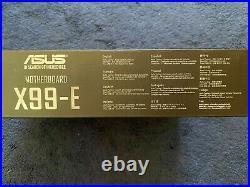 ASUS X99-E Motherboard USB 3.1 E5 V3 V4 LGA 2011-v3 Intel X99 Tested