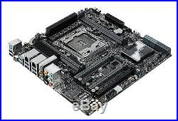 ASUS X99-M WS Dual PCI-E 3.0 USB 3.1 Wi-FI onboard Workstation Motherboard #5