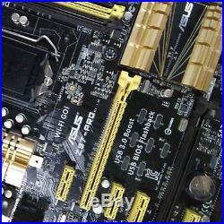 ASUS Z87I-PRO LGA1150 Intel Z87 USB 3.0 SATA3 PCI-E 3.0 WiFi 4790K Motherboard