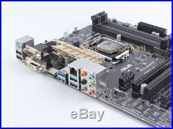ASUS Z97-C LGA 1150 Socket H3 Intel Z97 Motherboard ATX DDR3 USB3.0 VGA