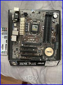 ASUS Z97M-PLUS LGA1150 Micro ATX Intel motherboard