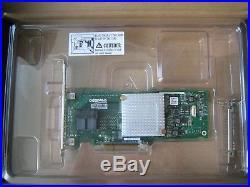 Adaptec ASA-7805H PCI-E x8 SAS SATA 6G 8 port 2x SFF8643 Host Bus Adpater HBA LP