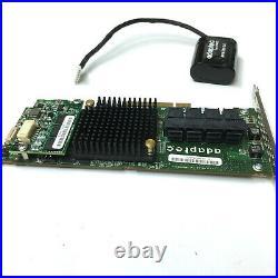 Adaptec ASR-71605 16 Ports 2274400-R Raid Card AFM-700 1GB Cache & BBU Battery