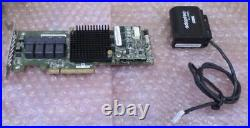 Adaptec ASR-71605 1GB Cache 16-Port 6Gbps Raid controller + Battery